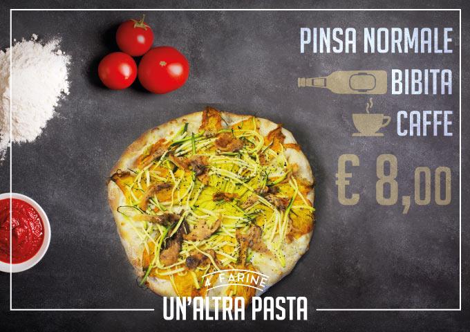 Un-Altra-Pasta-4-Farine-Fragranza-Gusto-Digeribilita-Menu-Pinsa-Normale-Bibita-a-scelta-caffe-solo-8-euro