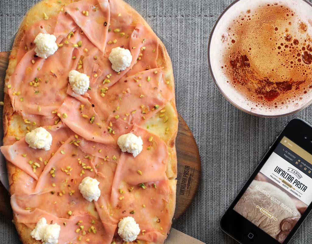 Un Altra Pasta pinsa romana a Milano consegna delivery