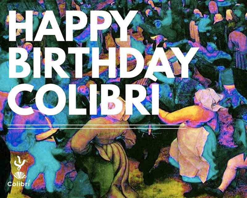 Evento Happy Birthday Colibri Con Un Altra Pasta