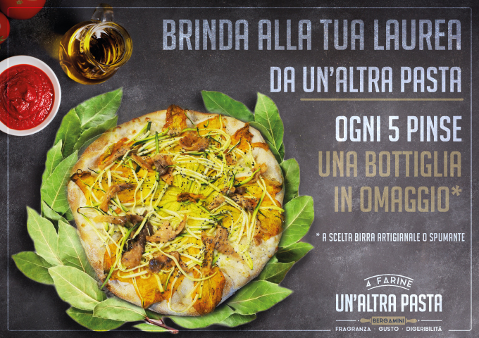 Un Altra Pasta Flyer Promo Festa Laurea
